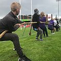 Hundreds get physical at sports event