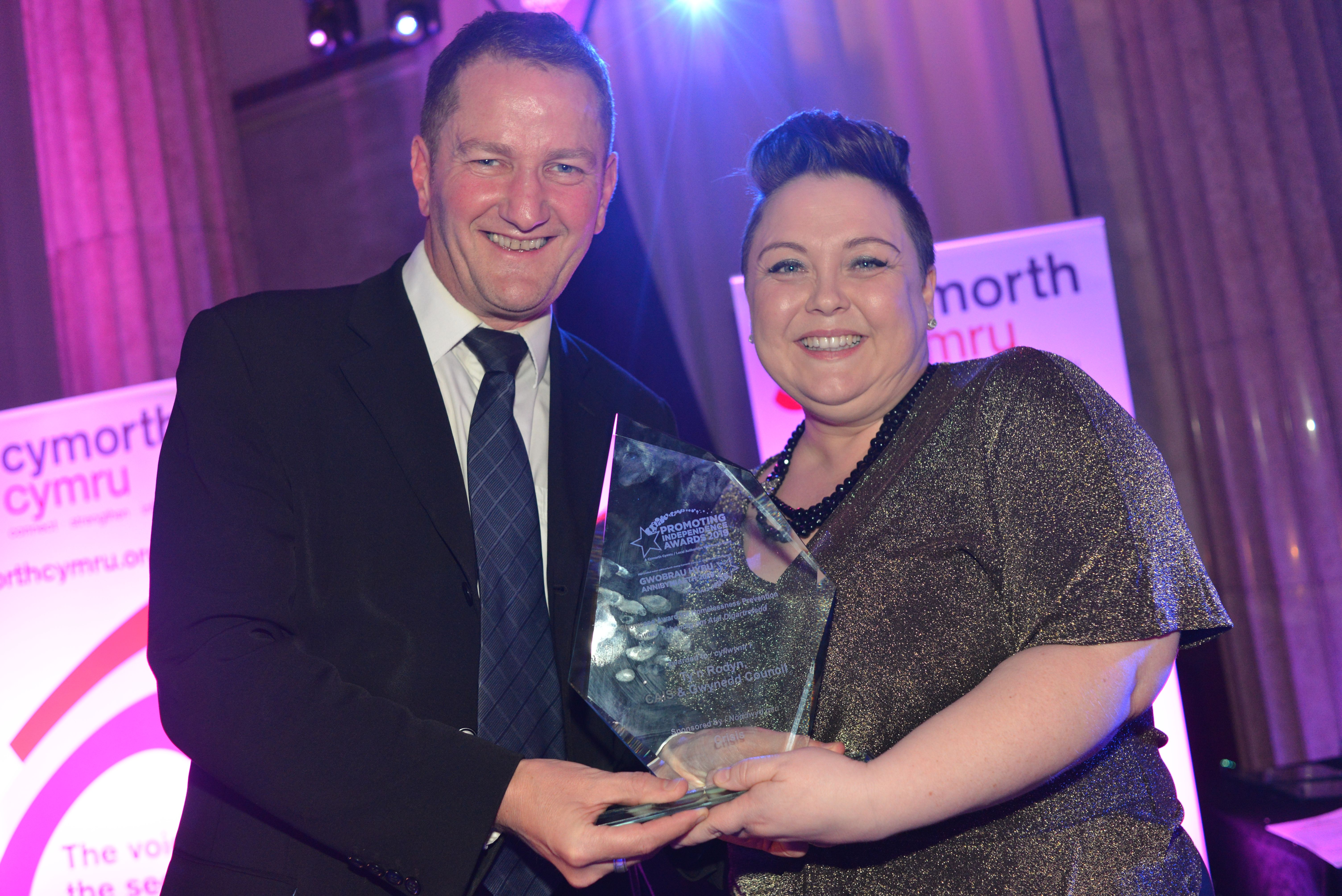 Award for homelessness prevention project