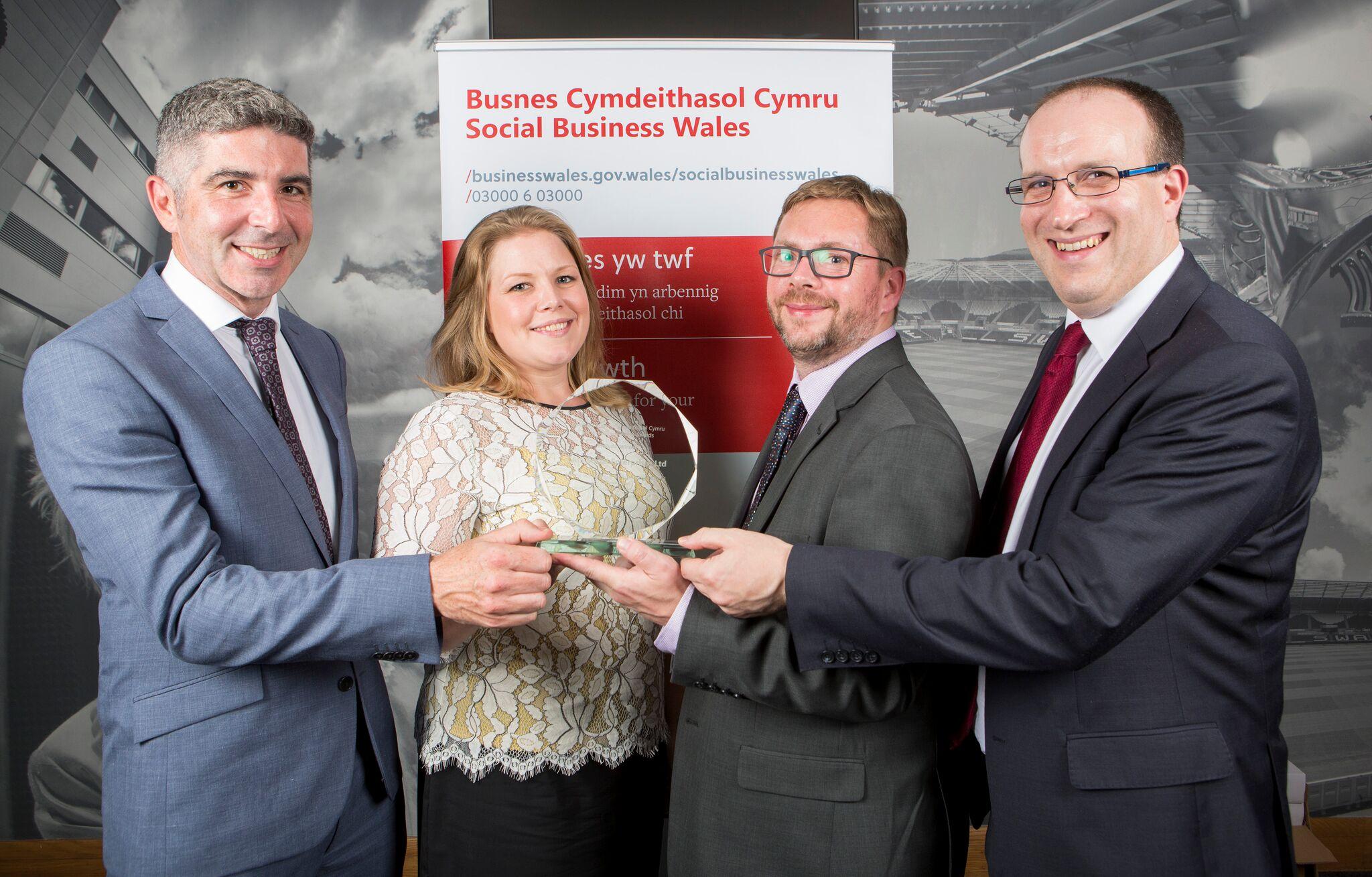 National award for CAIS Social Enterprises