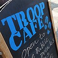 Troop Cafe: open for tea and training!
