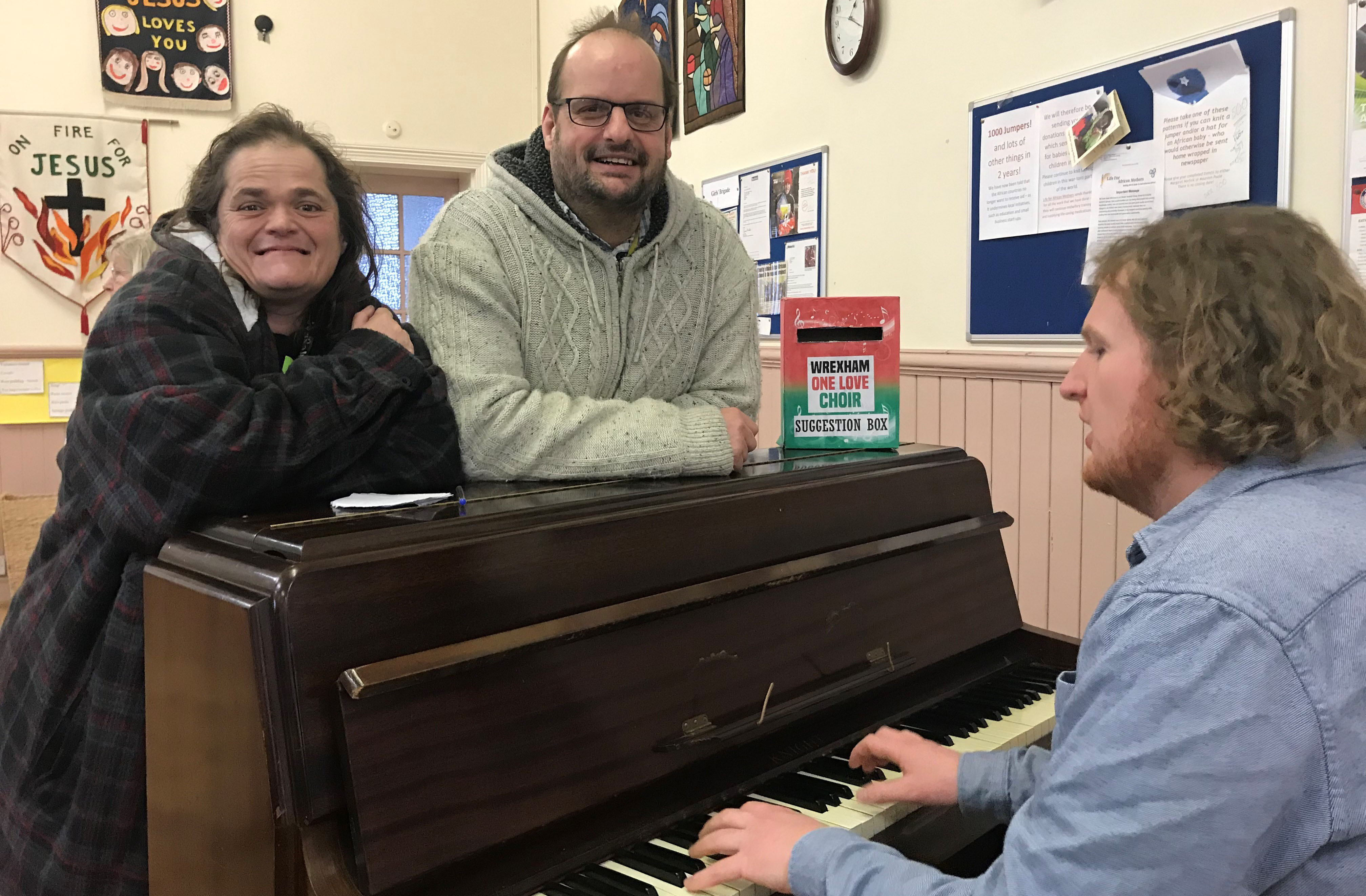 Wrexham choir sings out for recovery