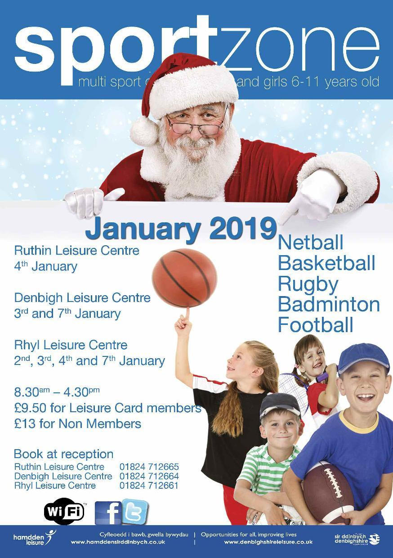 Sportzone Christmas 2018
