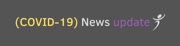 Covid news banner