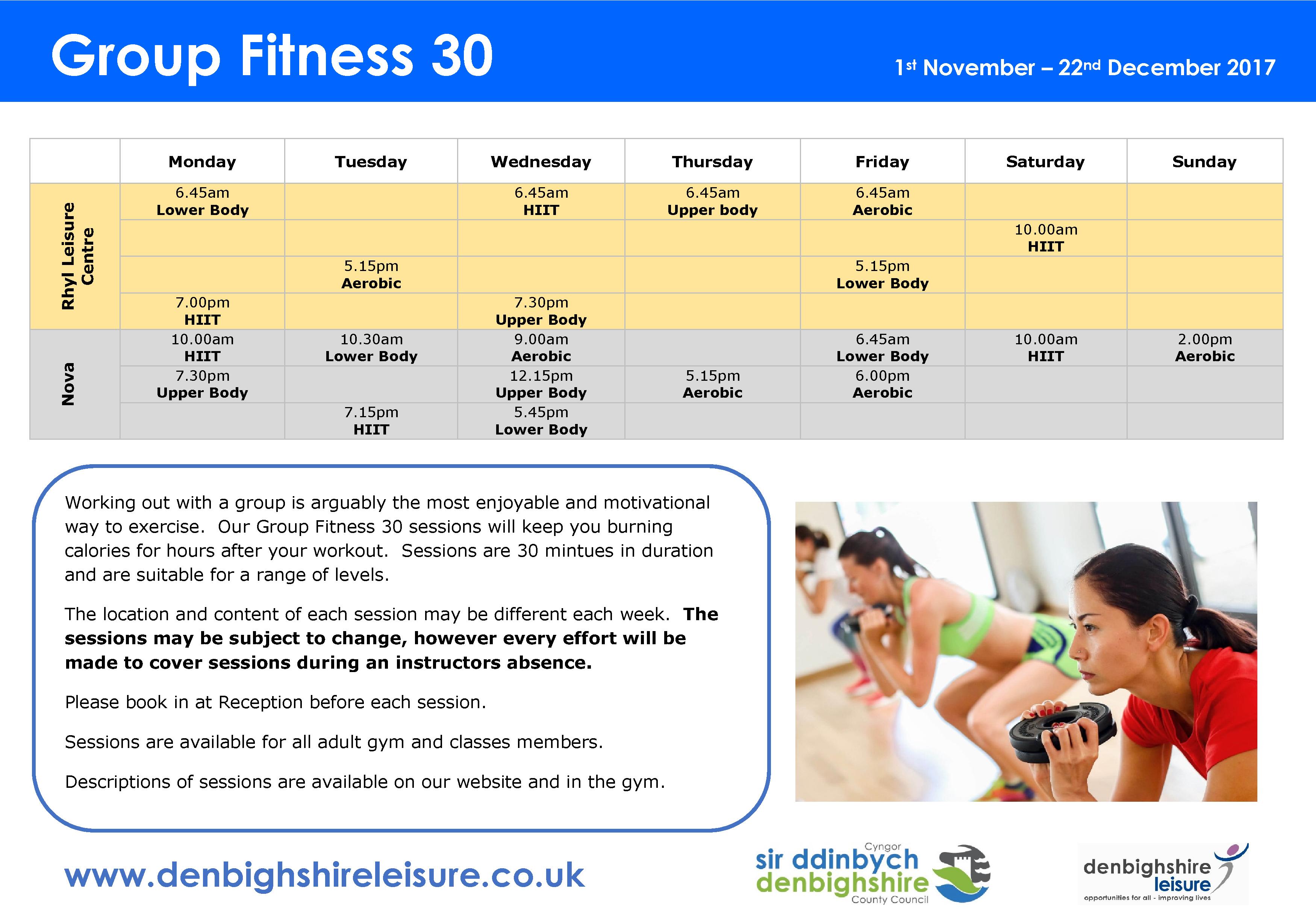 Fitness 30 eng nov dec 2017