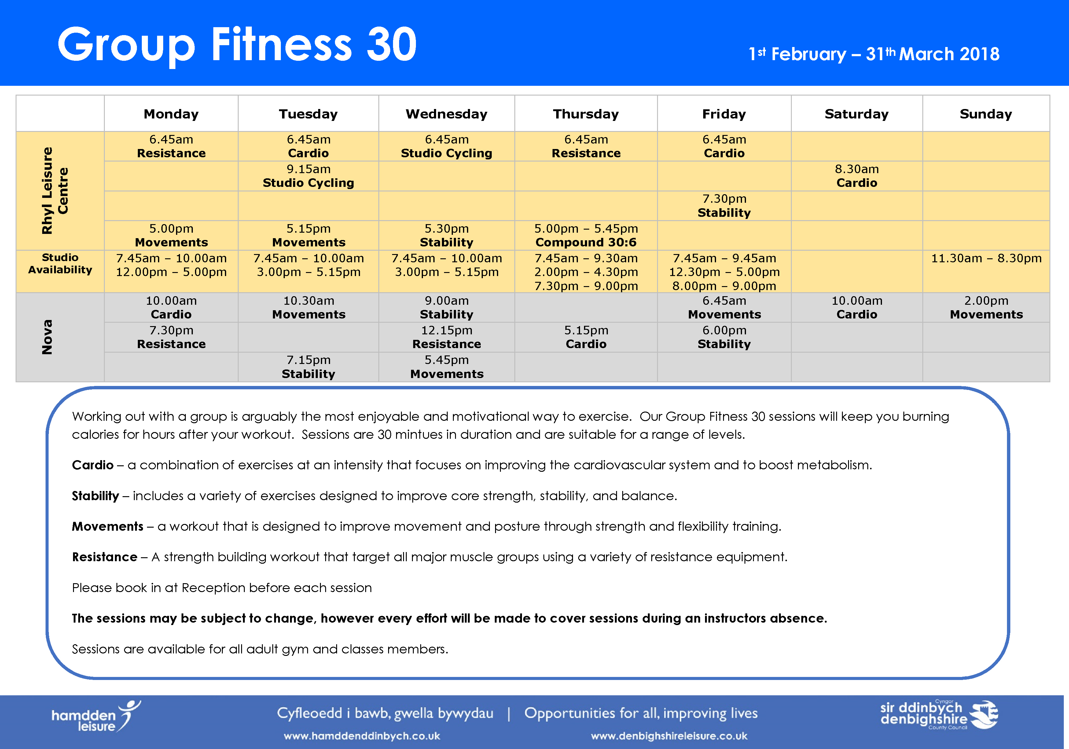 Fitness 30 eng - Feb 18