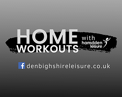 Home workouts with Denbighshire Leisure