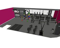 New Gym Equipment at Corwen Leisure Centre