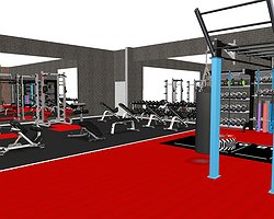 NEW GYM at Rhyl Leisure Centre Opening July 2018