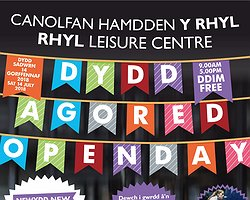 Rhyl Leisure Centre Open Day - 14th July 2018