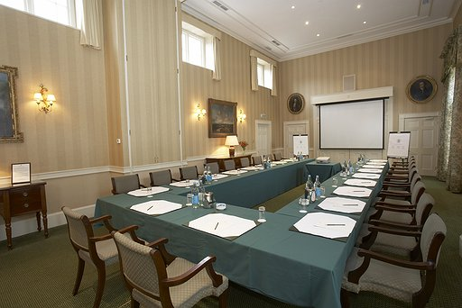 Hartwell House - James Gibbs meeting room
