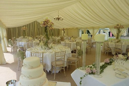 Marquee Wedding Dining