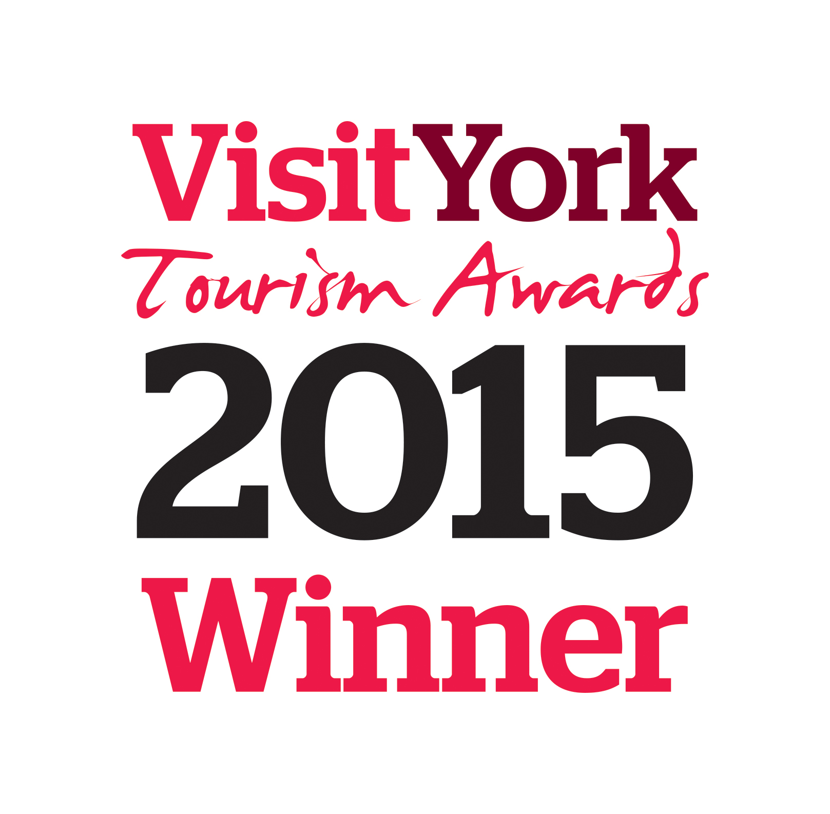 Tourism awards 2015