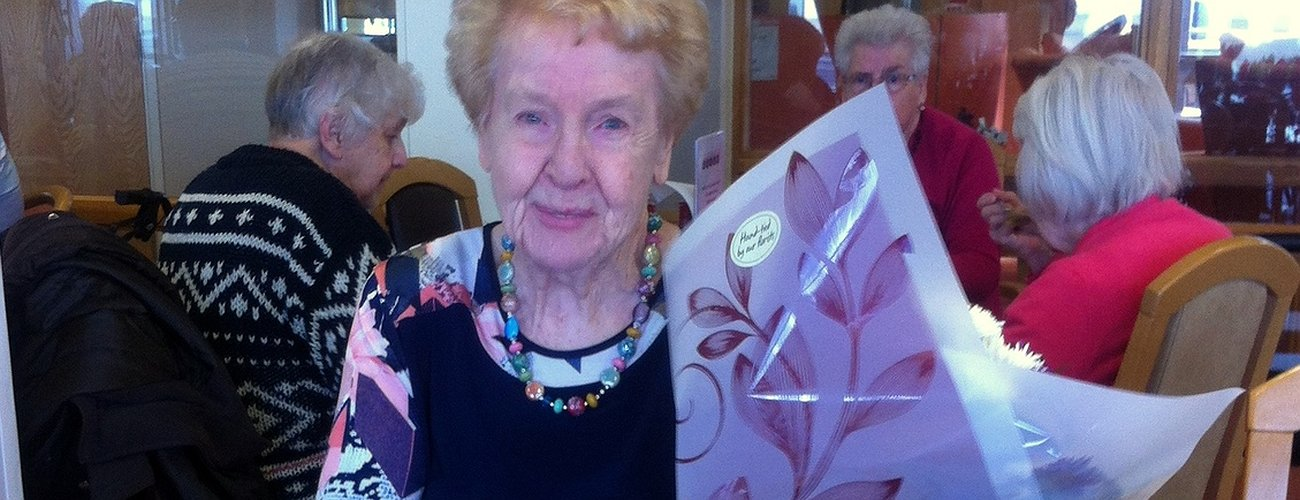 Birthday delight for Extra Care Scheme - February 2016