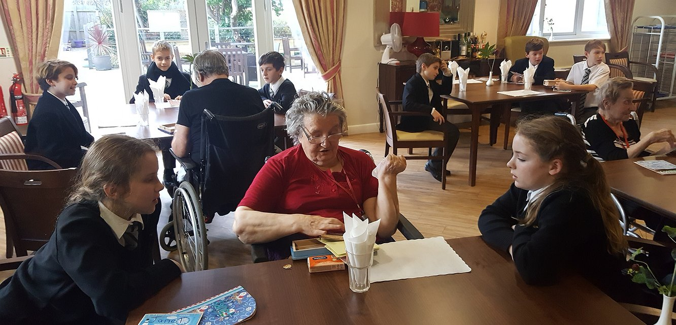 Friendship and memories at Merton Place - January 2017