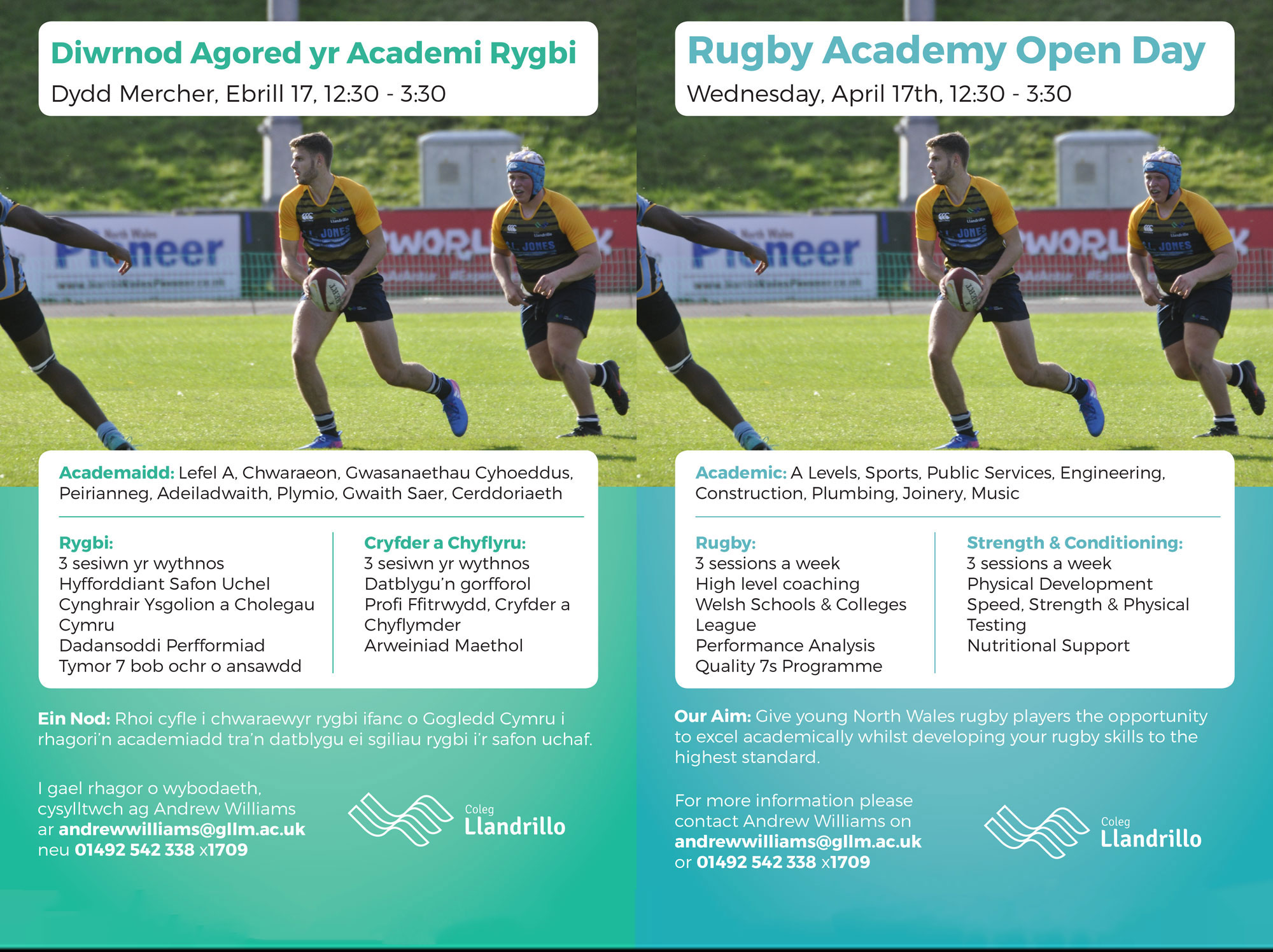 Rugby Academy Open Day