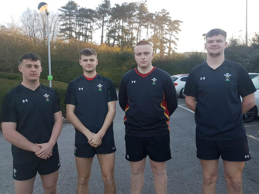 Quarter for Wales 18s