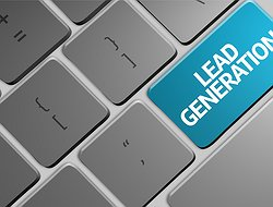 Lead generation keyboard