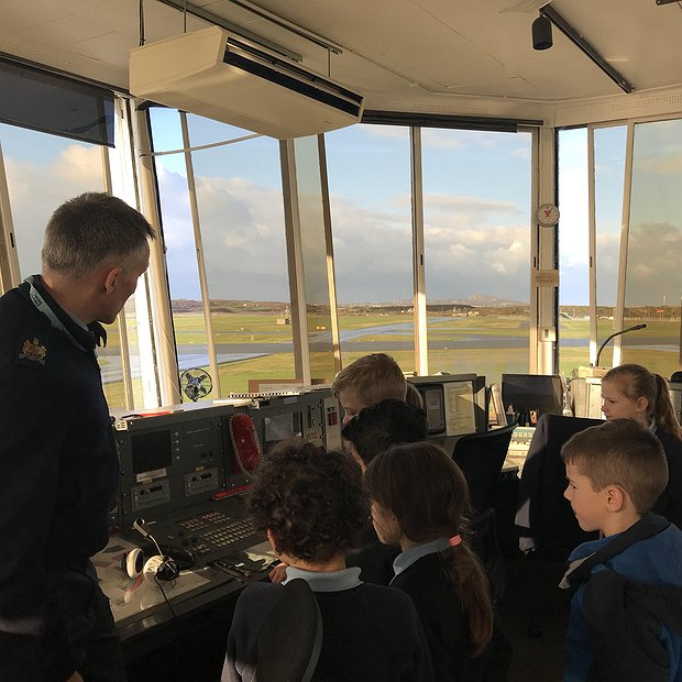 Met Office Visit at RAF Valley