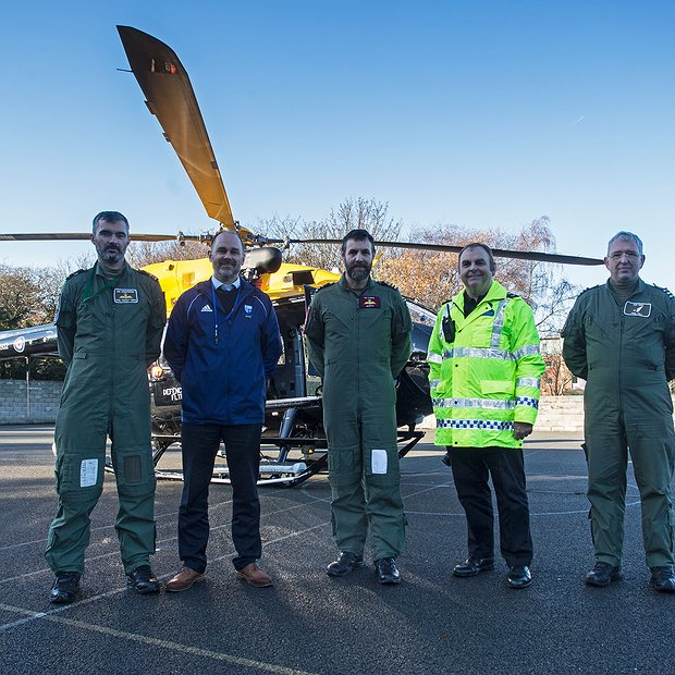 A Visit from the RAF