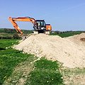 Earthworks - site preparation by Vectorex Construction North Wales 2