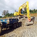 Earthworks - site preparation by Vectorex Construction North Wales 3