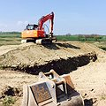 Earthworks - site preparation by Vectorex Construction North Wales