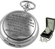 A E Williams - Pocket Watch Born To Be Welsh