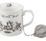 Alice in Wonderland - Boxed Mug & Tea Fuser