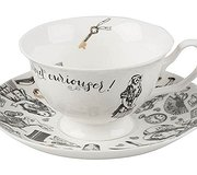 Alice in Wonderland - Boxed Tea Cup & Saucer