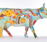 Cow Parade - Cosmic Cow