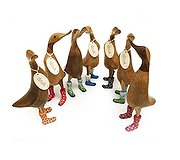 Dcuk - Floral Welly Ducklets