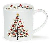 Dunoon - Festive Robins Mug