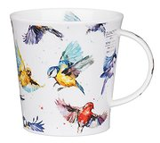 Dunoon - Flight of Fancy Birds China Mug
