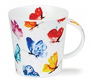 Dunoon - Flight of Fancy Butterly China Mug
