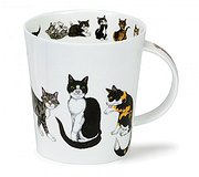 Dunoon - Paws for Thought Mug Black