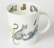 Dunoon - Paws for Thought Mug Grey