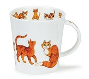 Dunoon - Paws for Thought Mug Ginger