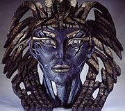 Edge Sculpture - Cleopatra Bust