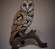 Edge Sculpture - Barn Owl