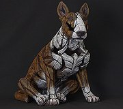 Edge Sculpture - Bull Terrier Red