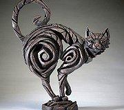 Edge Sculpture - Cat Black