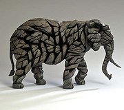 Edge Sculpture - Elephant Mocha