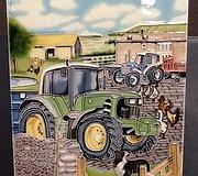 Fiesta Studios - Farm Scene with Tractors