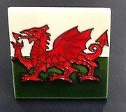 Fiesta Studios - Welsh Dragon Tile Small