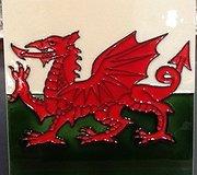 Fiesta Studios - Welsh Dragon Tile Large