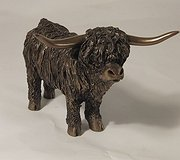 Frith Sculptures - Angus Highland Calf Standing