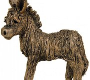 Frith Sculptures - Baby Donkey Standing