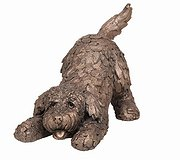 Frith Sculptures - Barney Cockapoo Playing