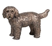 Frith Sculptures - Button Labradoodle Standing