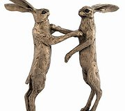 Frith Sculpture - Howard and Hilda - Boxing Hares